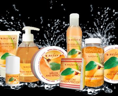 Refan Naturkosmetik Pflegeserie Melone Aprikose