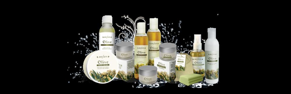 Refan Naturkosmetik Pflegeserie Olive