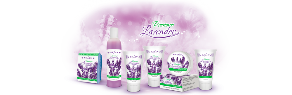 Refan Naturkosmetik Pflegeserie Provence Lavendel
