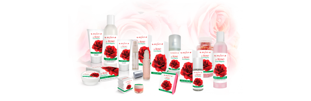 Refan Naturkosmetik Pflegeserie Rose Bulgaria