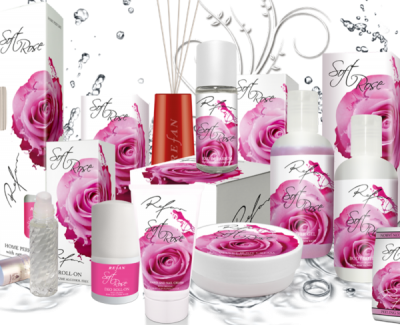 Pflegeserie Soft Rose