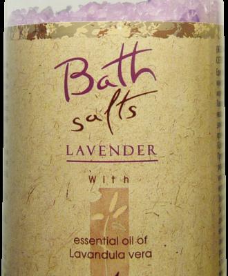 Refan Naturkosmetik Badesalz Lavendel