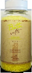 Refan Naturkosmetik Badesalz Lemon