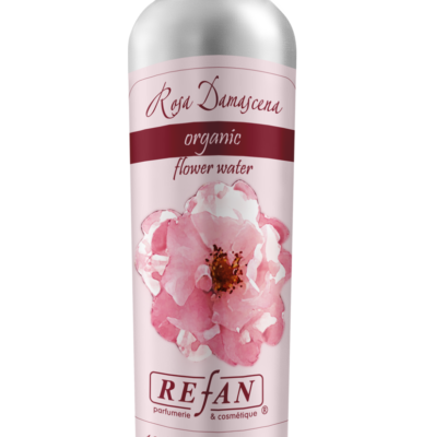 Refan Naturkosmetik Biologisches Rosenwasser Rosa Damascena