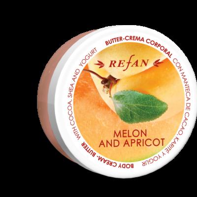 Refan Naturkosmetik Bodycremebutter Melone Aprikose
