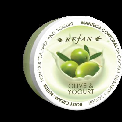 Refan Naturkosmetik Bodycremebutter Olive Joghurt