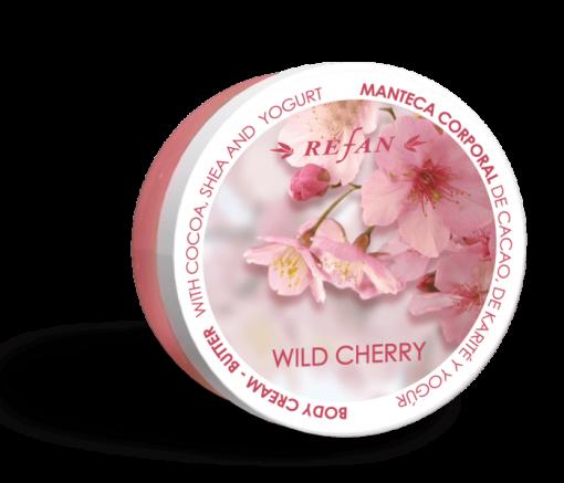 Refan Naturkosmetik Bodycremebutter Wild Cherry