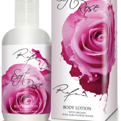 Refan Naturkosmetik Bodylotion Soft Rose