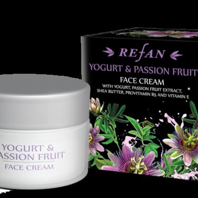Refan Naturkosmetik Gesichtscreme Joghurt Passionsfrucht
