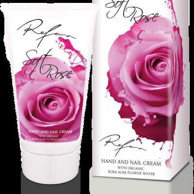 Refan Naturkosmetik Handcreme Soft Rose