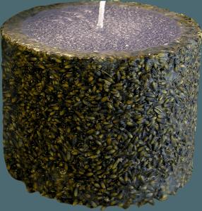 Refan Naturkosmetik Kerze Lavendel