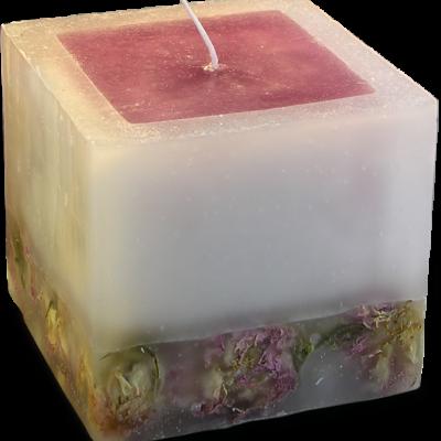Refan Naturkosmetik Kerze Queen Rose