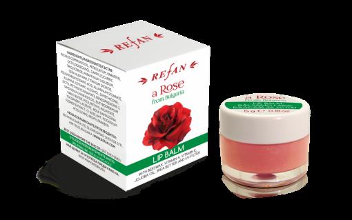 Refan Naturkosmetik Lipbalsam Rose Bulgaria