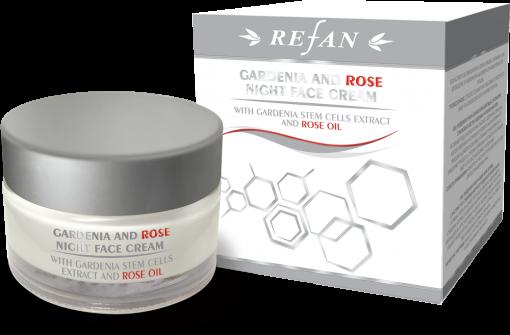Refan Naturkosmetik Nachtcreme Gardenie und Rose