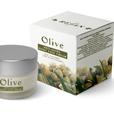 Refan Naturkosmetik Nachtcreme Olive