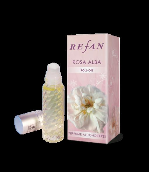 Refan Naturkosmetik Parfümöl Rollon Rose Alba
