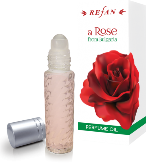 Refan Naturkosmetik Parfümöl Rollon Rose Bulgaria