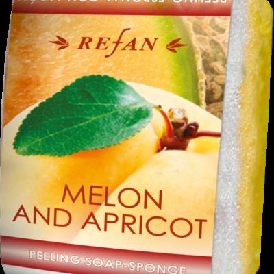 Peelingseife Melone Aprikose