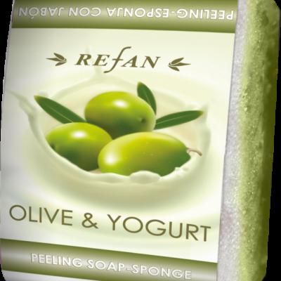 Refan Naturkosmetik Peelingseife Olive Joghurt