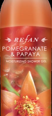 Refan Naturkosmetik Showergel Granatapfel Papaya
