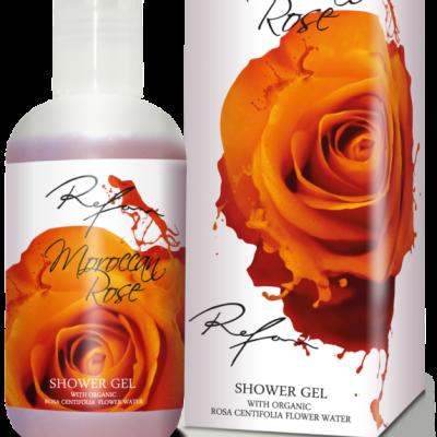 Refan Naturkosmetik Showergel Marokkanische Rose