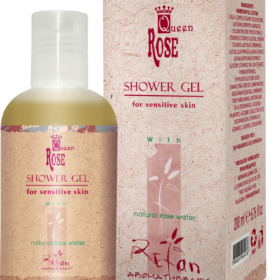 Refan Naturkosmetik Showergel Queen Rose