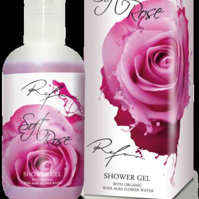 Refan Naturkosmetik Showergel Soft Rose