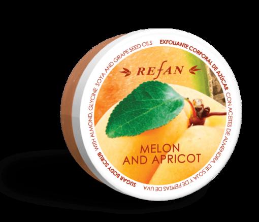 Zucker Peeling Melone Aprikose