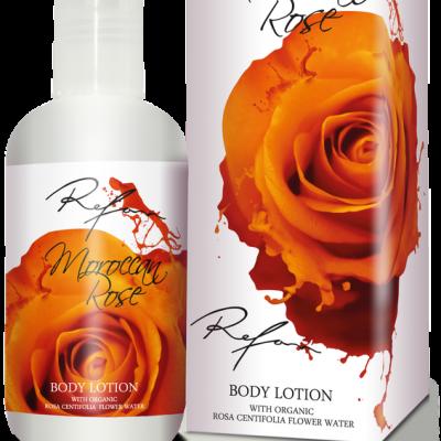 Refan Naturkosmetik Bodylotion Marokkanische Rose