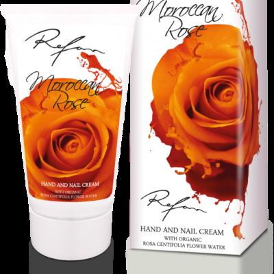 Refan Naturkosmetik Hand- und Nagelcreme Marokkanische Rose