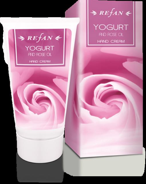 Refan Naturkosmetik Handcreme Joghurt und Ölrose