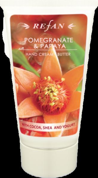 Refan Naturkosmetik Handcreme-Butter Granatapfel & Papaya