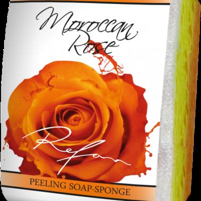 Refan Naturkosmetik Peelingseife Marokkanische Rose