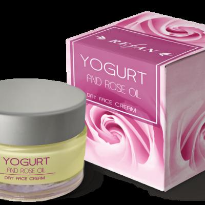 Refan Naturkosmetik Gesichtstagescreme Joghurt und Ölrose