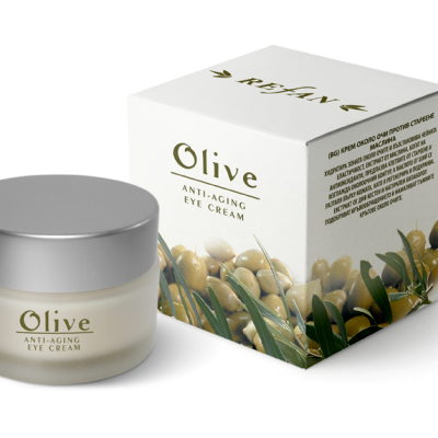 Refan Naturkosmetik Anti-Augenfaltencreme Olive