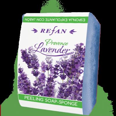 Refan Naturkosmetik Peelingseife Lavendel Provence 75g