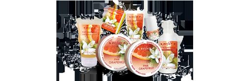 Pflegeserie Pink Grapefruit