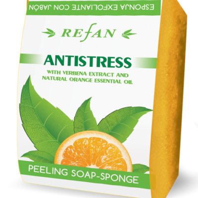 Refan Peeling Schwammseife Antistress