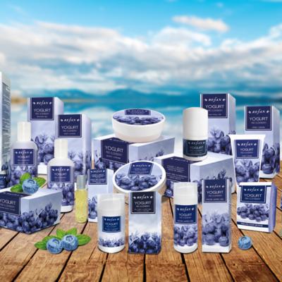 Pflegeserie Heidelbeere und Joghurt